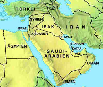 Karte Iran Nachbarlander.Aref Kalenderblatt Kw23 2002 Israel Sechstagekrieg